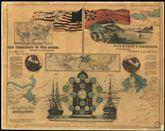Telegraph Chart, America and Europe