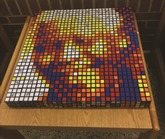 Completed Mandela Mosaic
