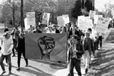 Students for a Democratic Society protest ROTC